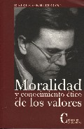 moralidad y conocimiento etico de los valores-dietrich von hildebrand-9788470575167
