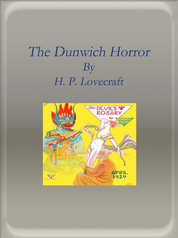 the dunwich horror (ebook)-h. p. lovecraft-9788893158367