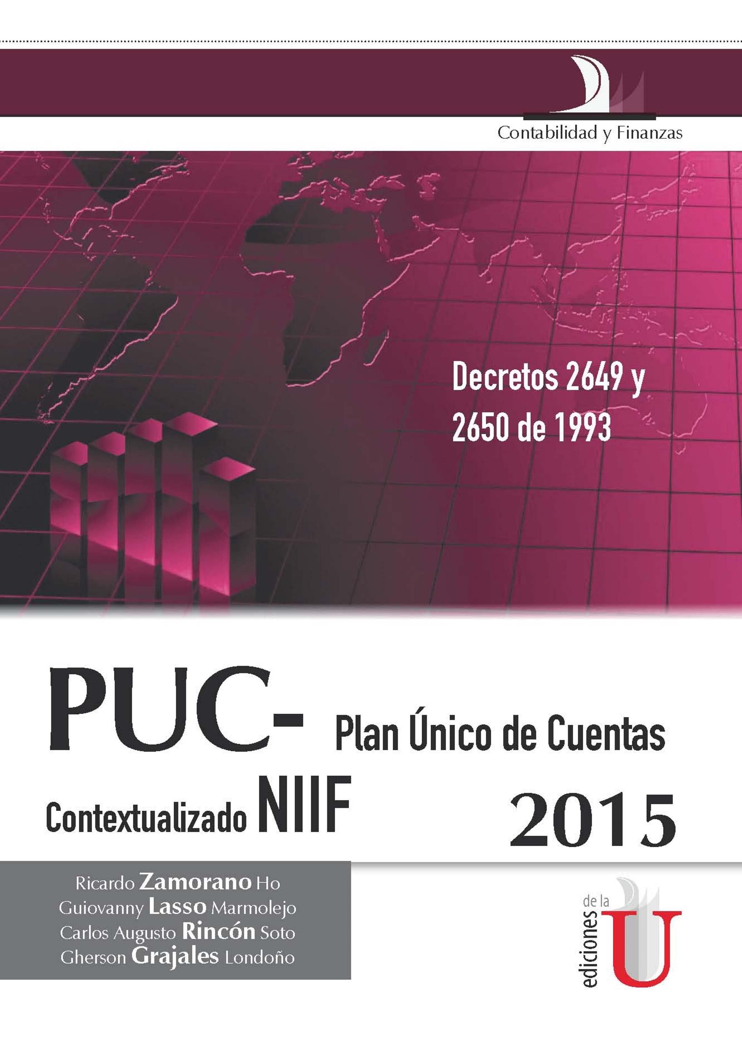 PUC PLAN ÚNICO DE CUENTAS EBOOK | RICARDO ZAMORANO HO | Descargar ...