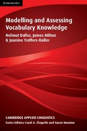 Modelling And Assessing Vocabulary Knowledge (paperback) por James Milton;