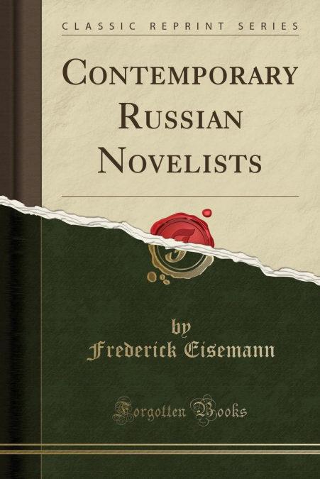Epub Descargar Contemporary Russian Novelists (classic Reprint)