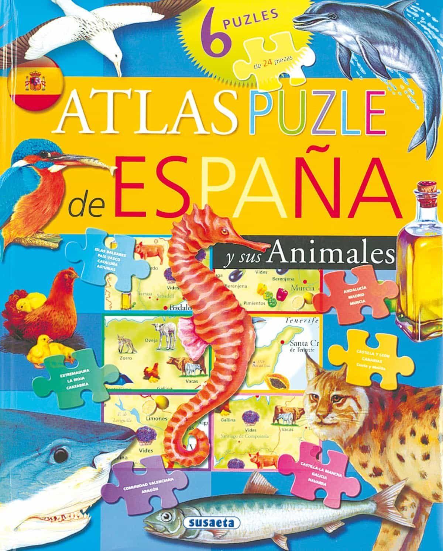 Atlas Puzzle De España por Vv.aa. Gratis