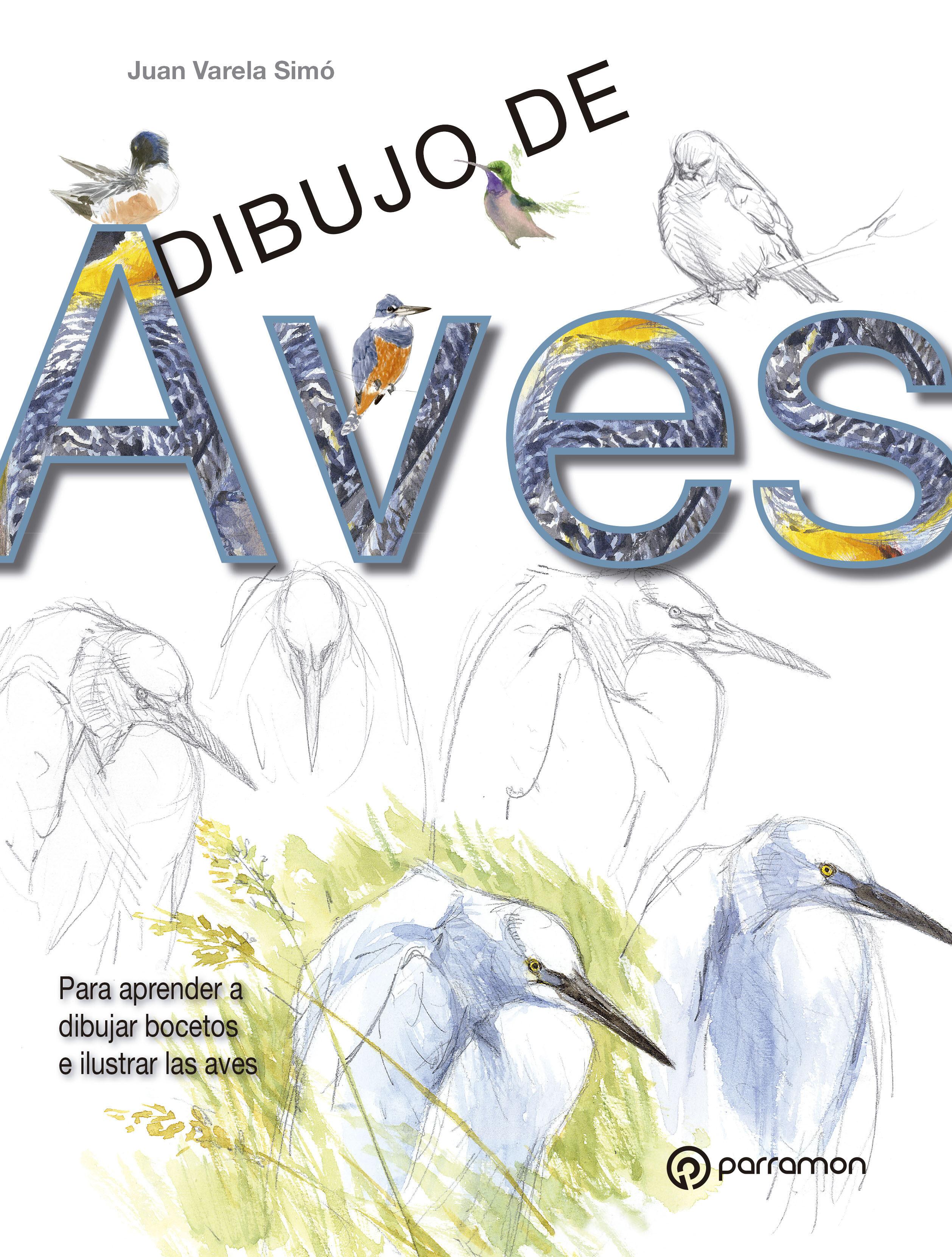 DIBUJO DE AVES  JUAN VARELA SIMO  Comprar libro 9788434241077
