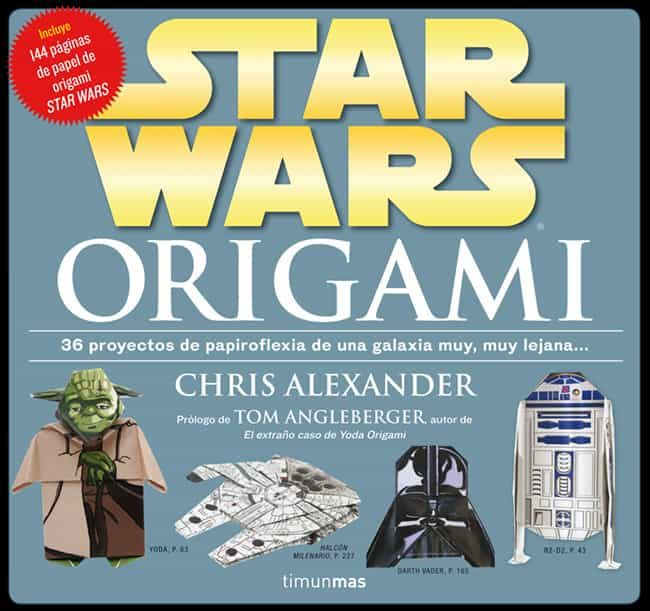 star wars origami-chris alexander-9788448009977
