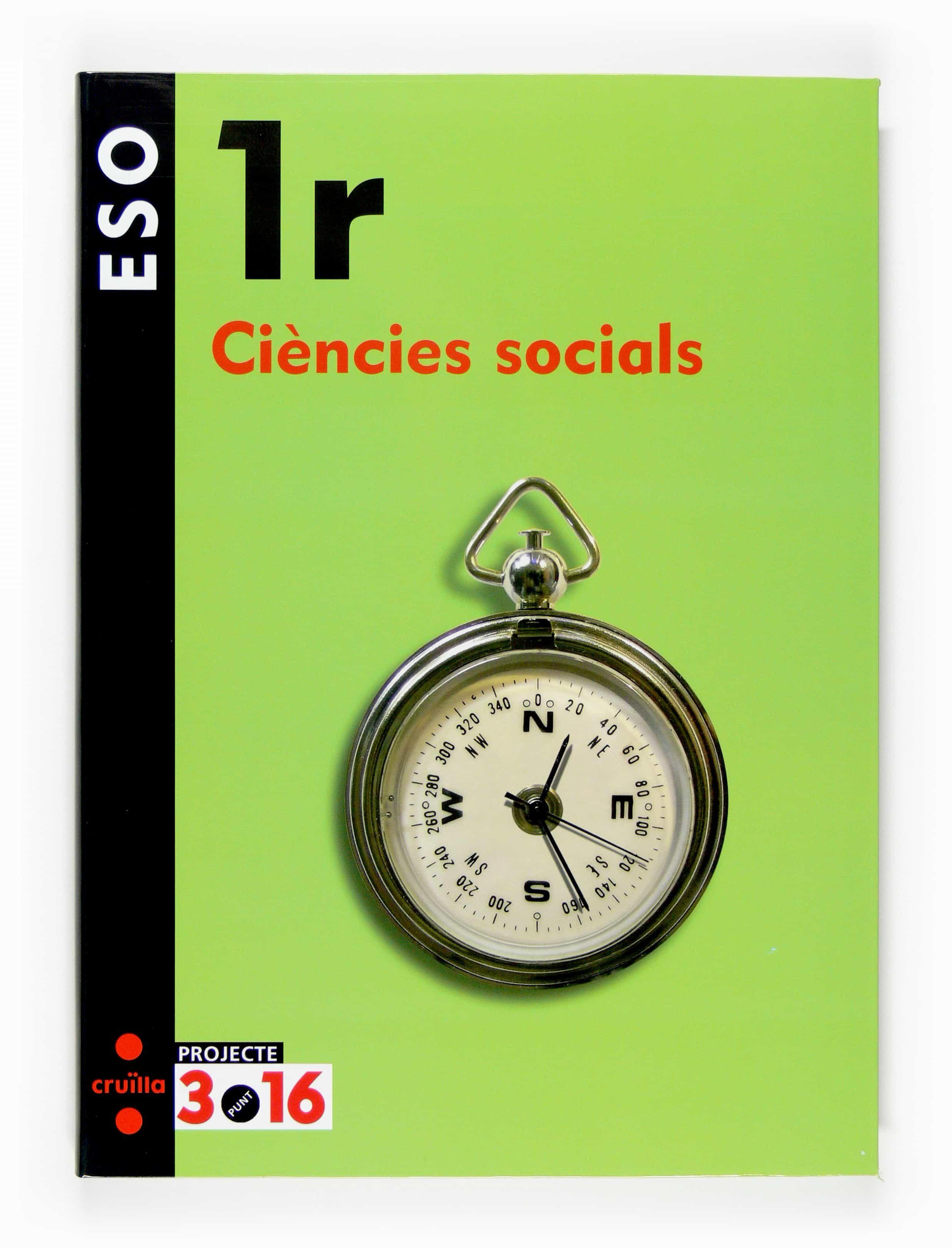 Ciencies Socials 1er Eso Projecte 3.16 por Vv.aa. epub