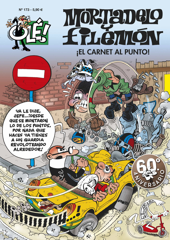 Ole Mortadelo Nº 173: ¡el Carnet, Al Punto! por Francisco Ibañez