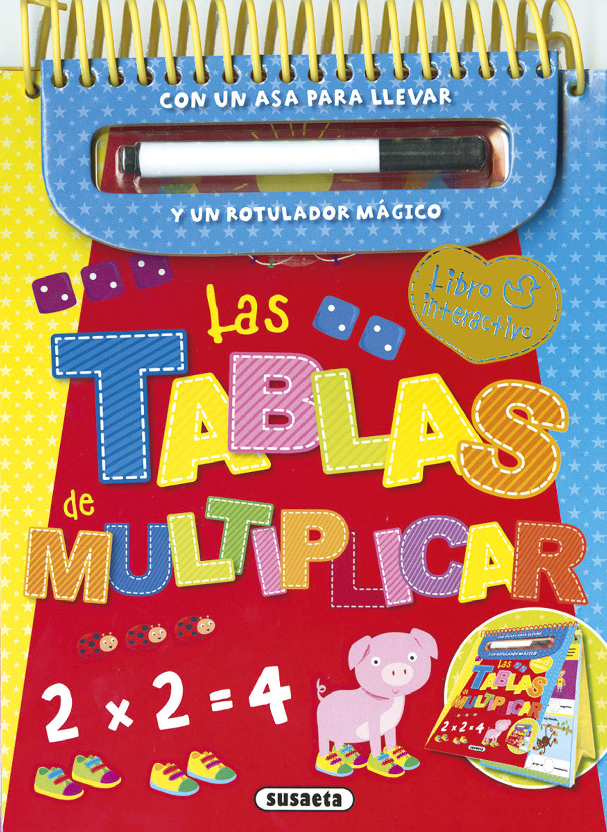 LAS TABLAS DE MULTIPLICAR: LIBRO INTERACTIVO | VV.AA. | Comprar ...