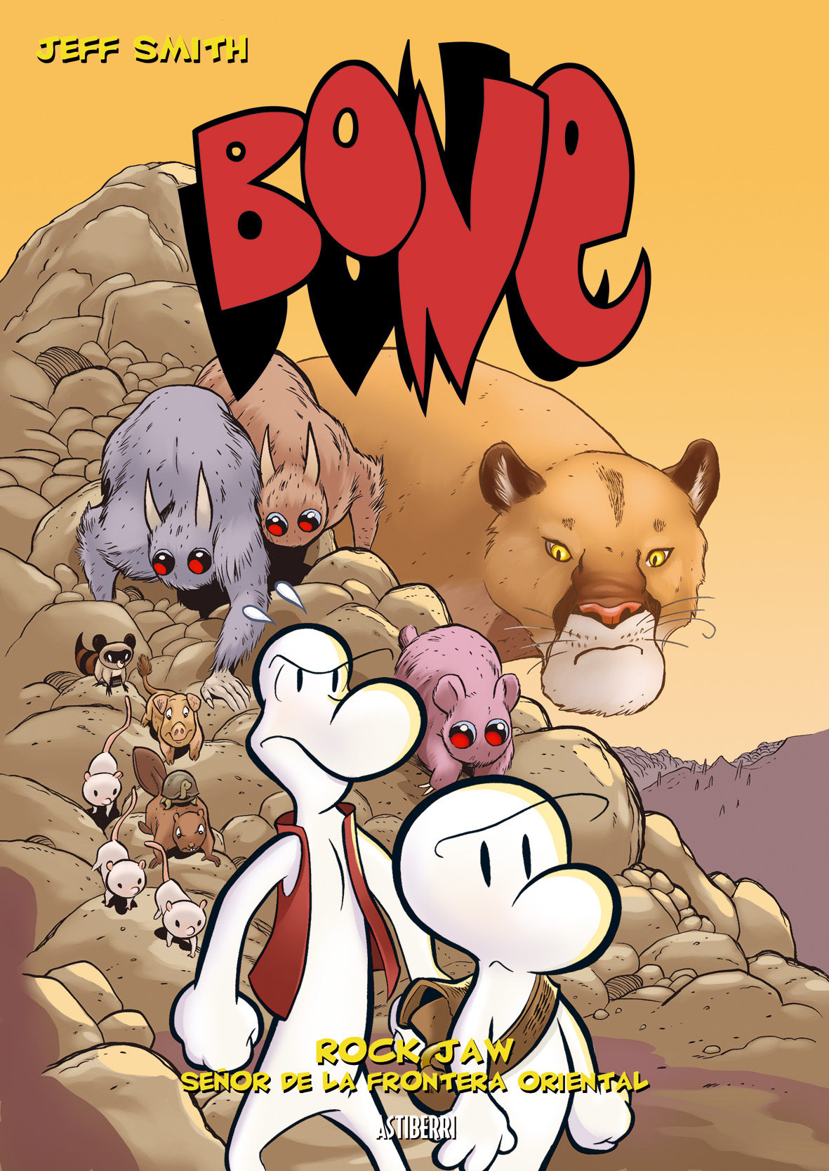 bone nº 5: rock jaw: señor de la frontera oriental-jeff smith-9788496815377