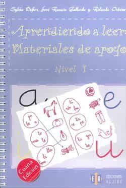 Aprendiendo A Leer: Materiales De Apoyo (nivel I) (3ª Ed.) por Sylvia Defior;                                                                                                                                                                                                          Jose Ramon Gallardo;