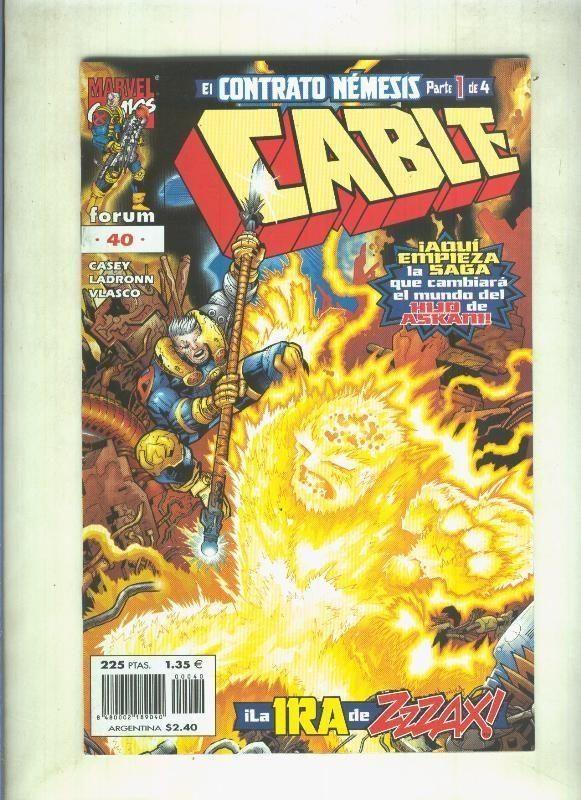 Planeta: Cable Volumen 2 Numero 40: El Contrato Nemesis Parte 1