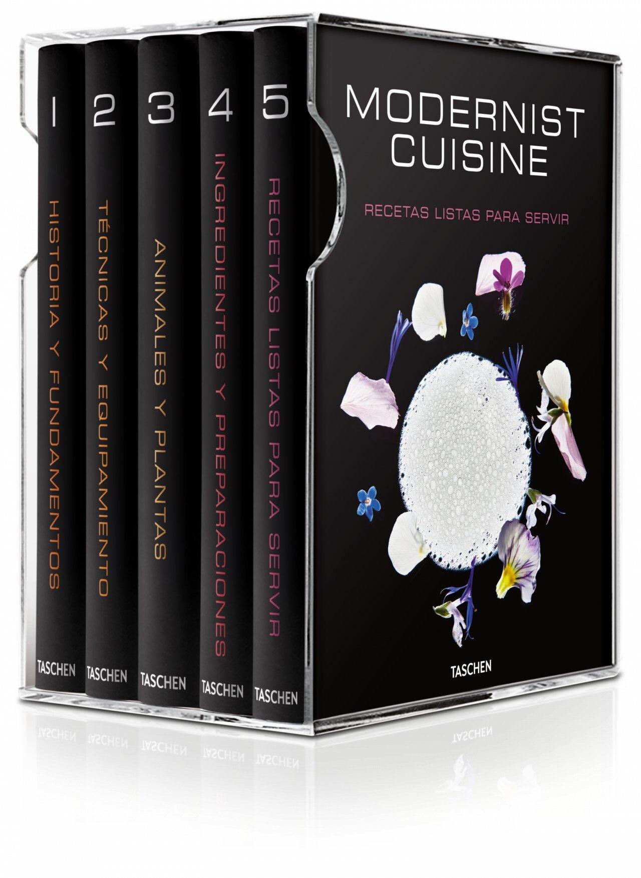 modernist cuisine: el arte y la ciencia de la cocina (estuche 6 v ols.)-nathan myhrvold-chris young-9783836532587