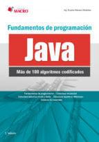 FUNDAMENTOS DE PROGRAMACIÓN CON JAVA (100 ALGORITMOS CODIFICADOS ...