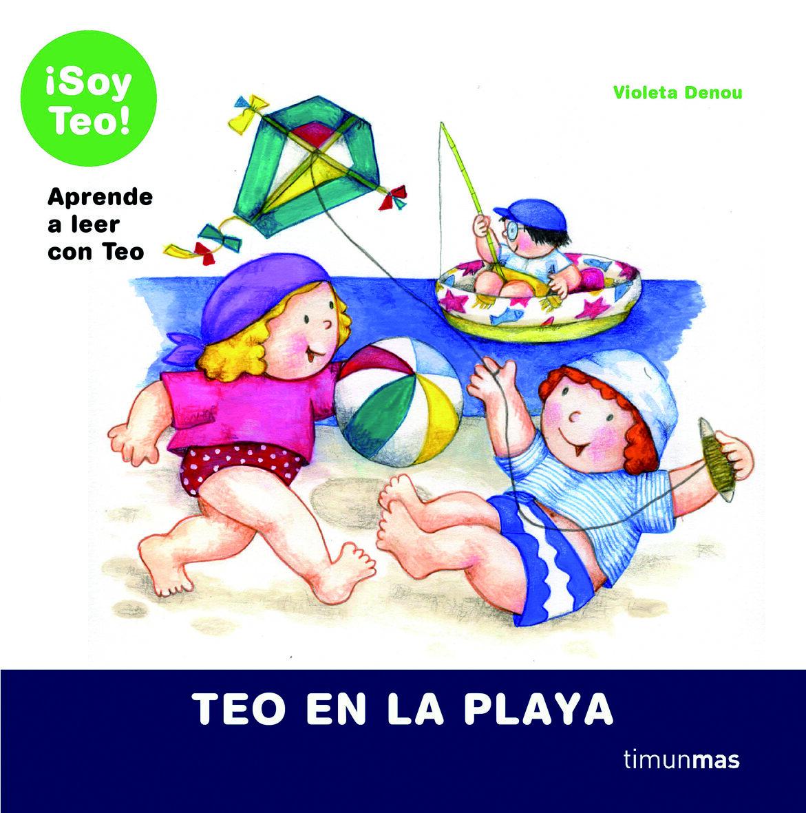 Teo En La Playa por Violeta Denou