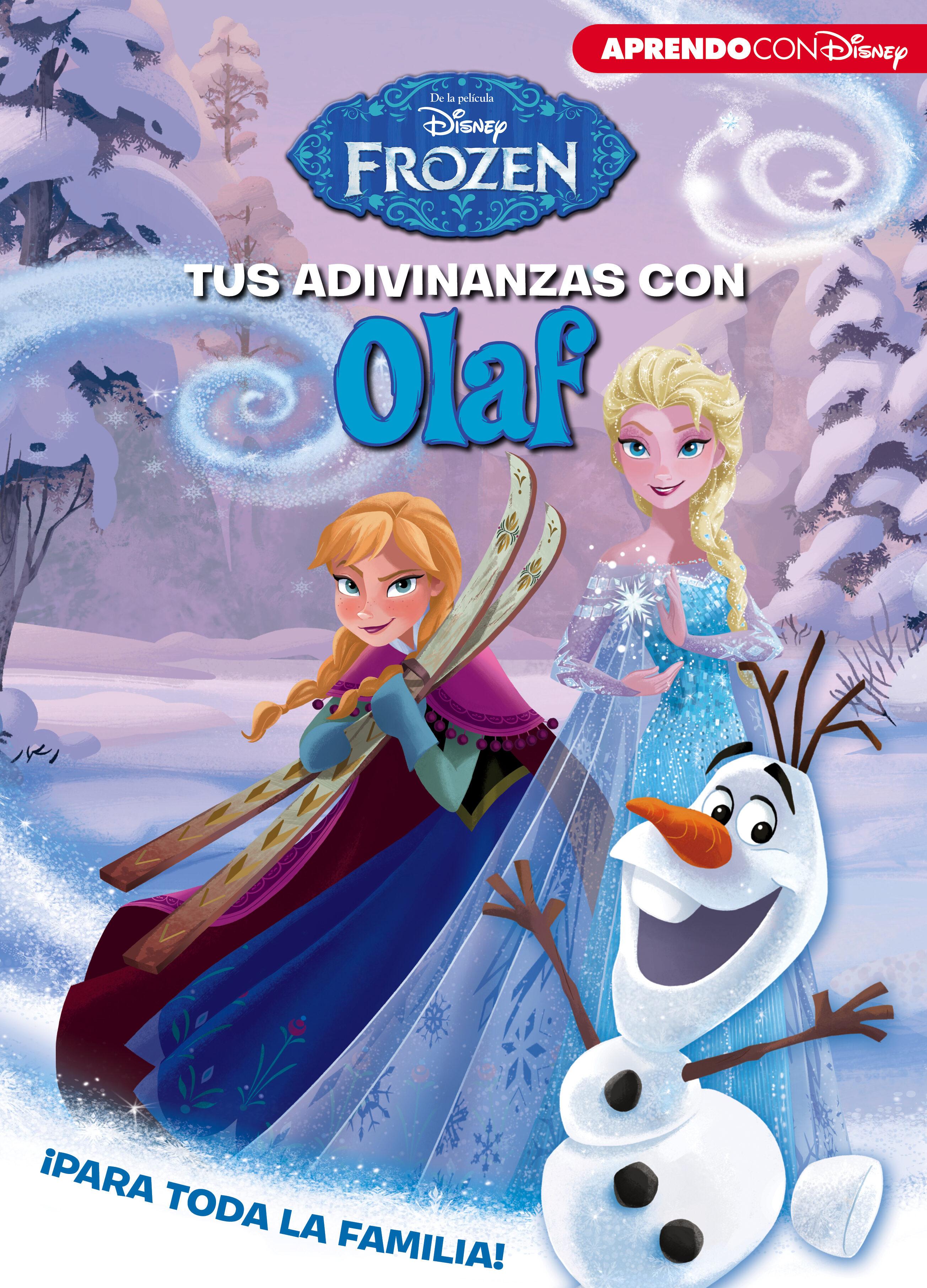 Tus Adivinanzas Con Olaf (adivinanzas Disney) por Vv.aa.
