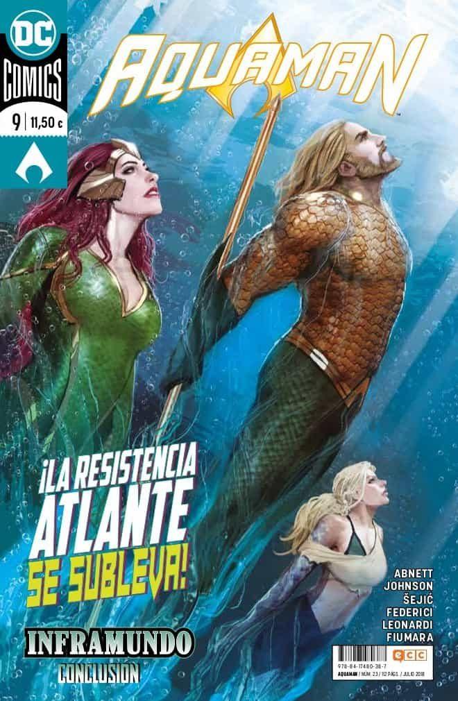 Aquaman Núm. 23/9 (renacimiento) por Dan Abnett