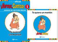 Te Quiero Un Monton: ¡abrete Cuento! (pack) por Vv.aa.