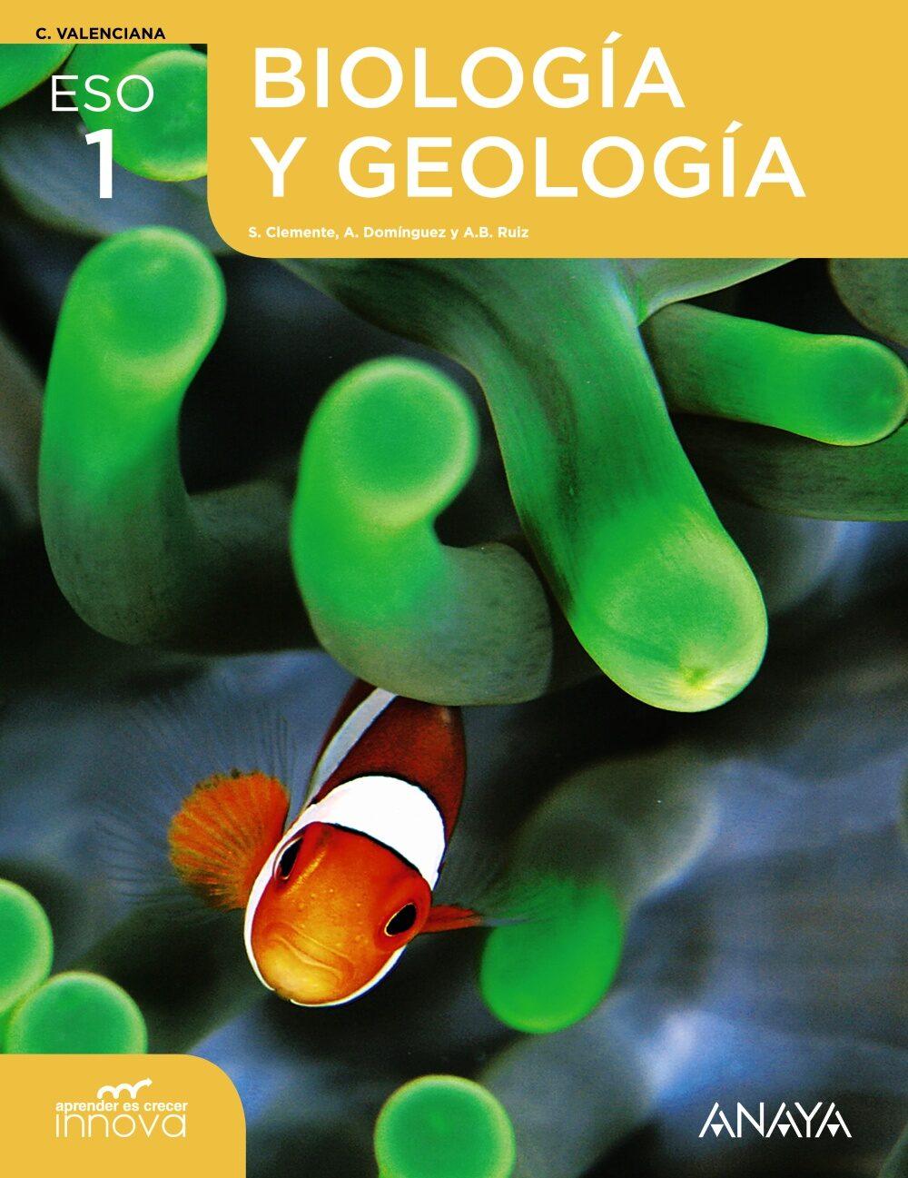 descargar BIOLOGIA GEOLOGIA 1º ESO VALENCIA APRENDER CRECE R pdf, ebook