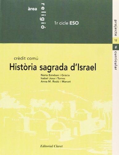 historia sagrada d israel. 1-2 eso-9788482973487