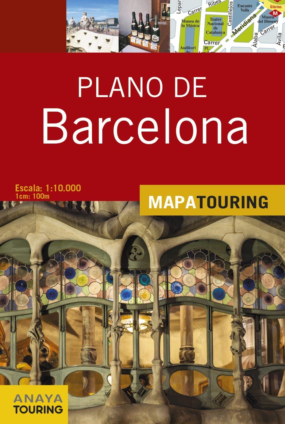 Plano De Barcelona 2015 (mapa Touring) (6ª Ed.) por Vv.aa. epub