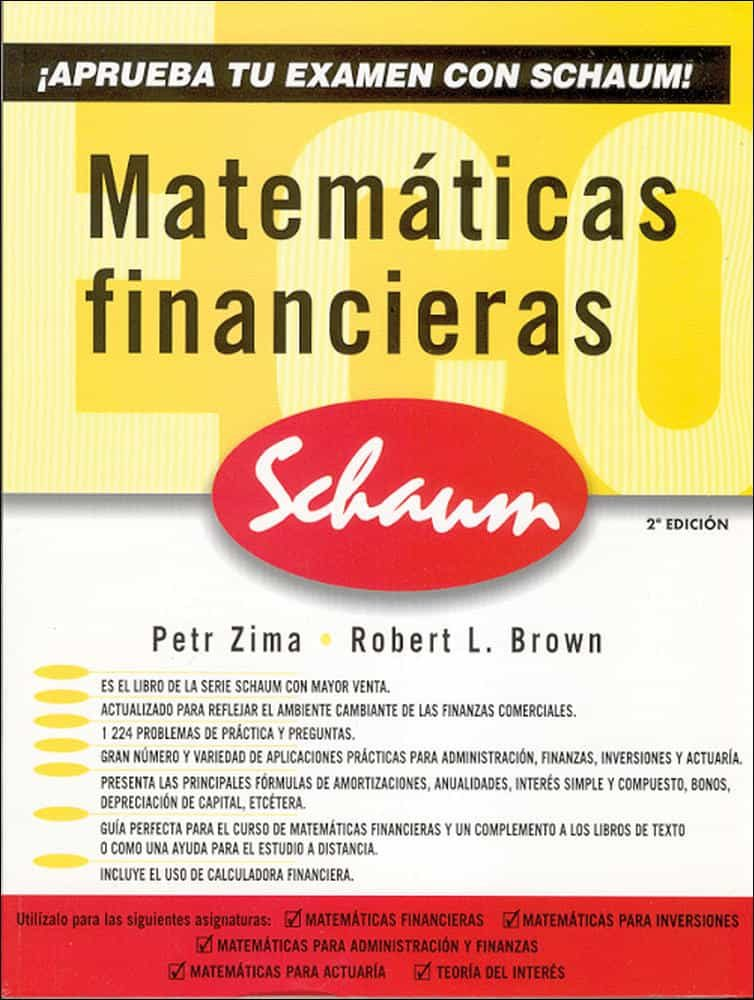 Matematicas Financieras (2ª Ed.) por Petr Zima;