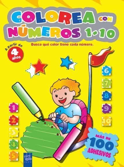 Colorea Con Numeros 1-20 Verde por Yoyo Gratis