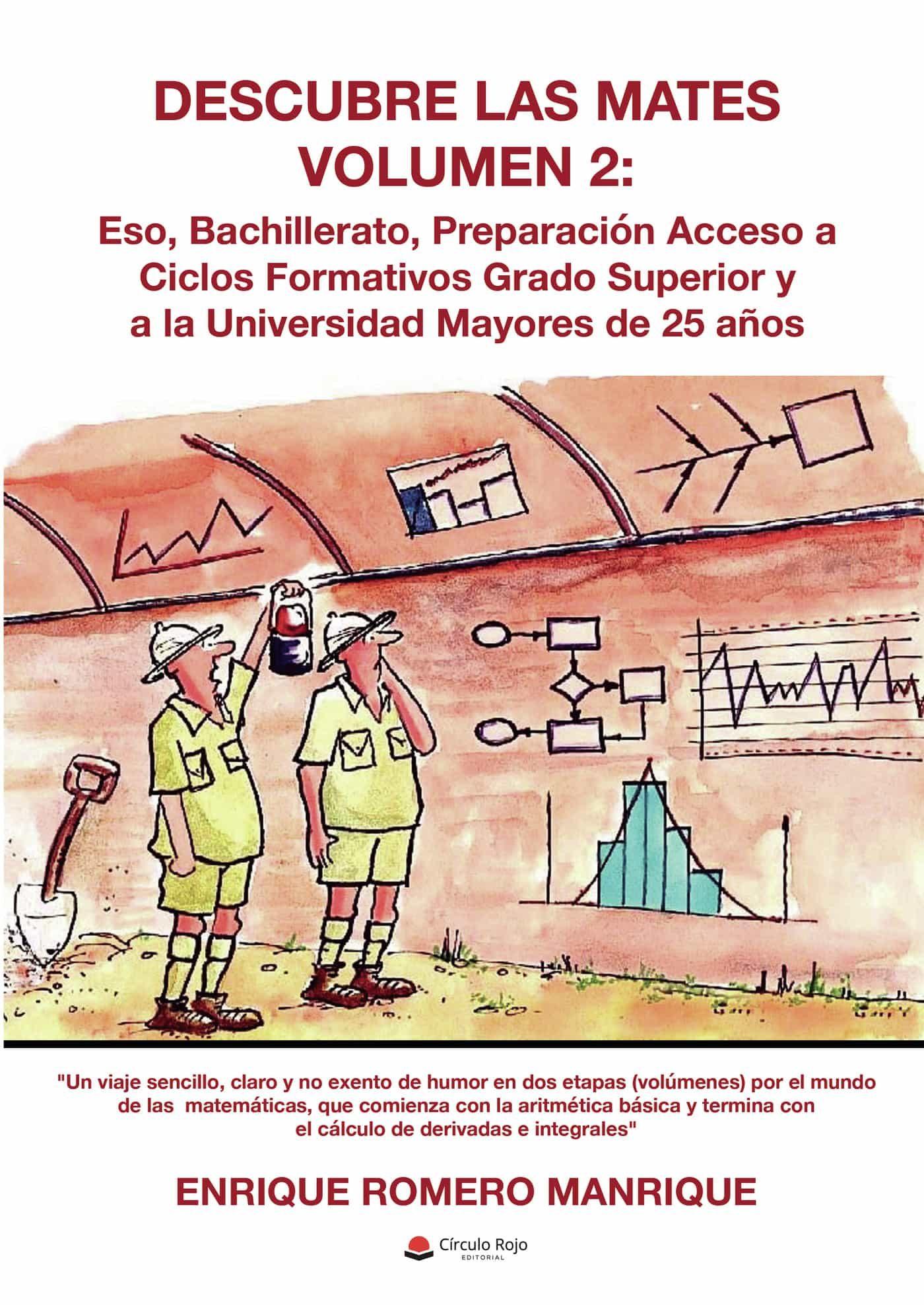 Descubre Las Mates. Volumen Ii   por Romero Manrique Enrique