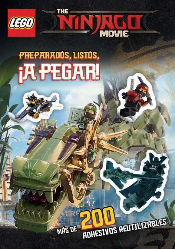 the lego ninjago movie: preparados, listos, ¡a pegar!-9788417206697