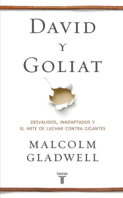 Resultado de imagen de gladwell goliat libro