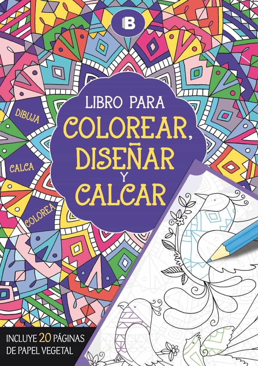 LIBRO PARA COLOREAR, DISEÑAR Y CALCAR | VV.AA. | Comprar libro ...