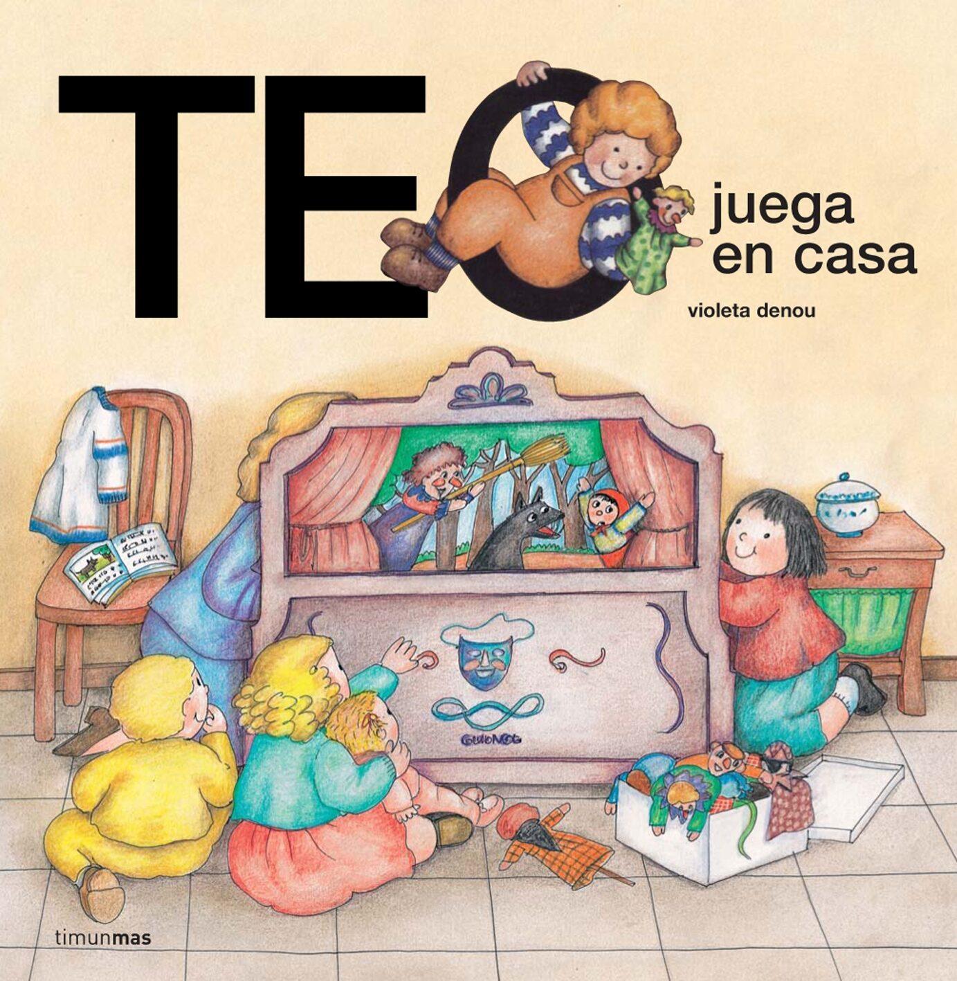 Teo Juega En Casa por Violeta Denou