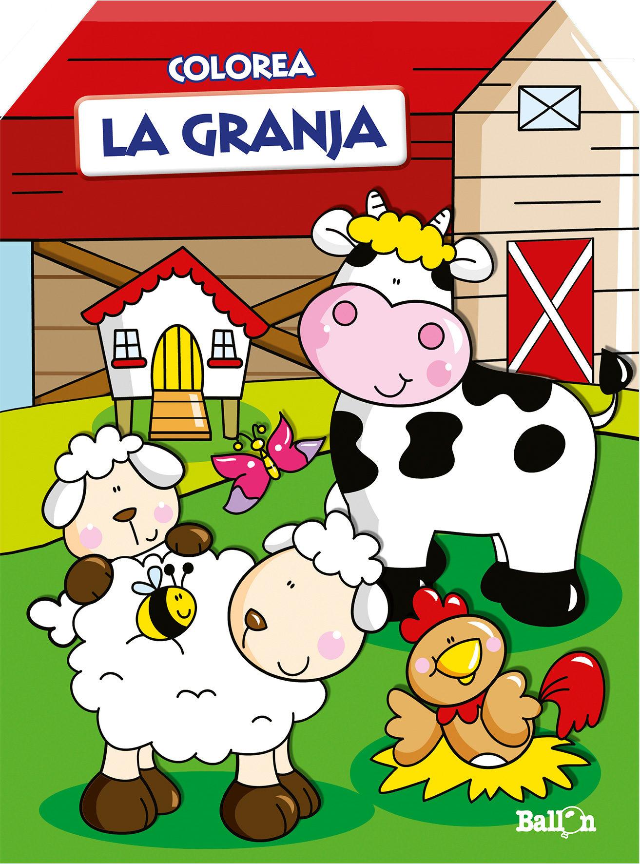 LA GRANJA (PINTA DE COLORES - LIBROS CASITA) | VV.AA. | Comprar ...