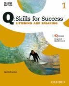 El libro de Q skills for success: level 1: listening & speaking student book with iq online autor VV.AA. EPUB!