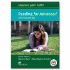 improve your skills: reading for advanced student s book with key mpo pack (mixed media product) 9780230462007