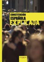 constitución española explicada (ebook)-francisco jose lavale ortiz-9781635033007