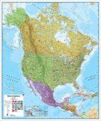 américa del norte política [inglés][120 x 100 cm.] 1:7.000.000-9781904892007