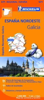 mapa regional galicia-9782067184107