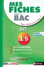 Descarga gratuita de libros Forum Mes fiches abc bac svt 1ere s