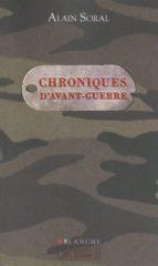 Descargar libros de forma gratuita desde la búsqueda de google book Chroniques d'avant-guerre