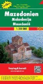 macedonia, mapa de carreteras (1:200.000) 9783707912807