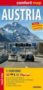 austria, mapa de carreteras plastificado 9788375463507