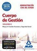 CUERPO DE GESTION DE LA ADMINISTRACION CIVIL DEL ESTADO. TEMARIO (VOL. 5)