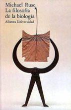 la filosofia de la biologia (2ª ed.) michael ruse 9788420622507