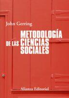 metodologia de las ciencias sociales john gerring 9788420689807