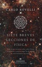 siete breves lecciones de física carlo rovelli 9788433964007