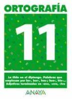 ortografia 11 (primaria) (ed. 2004) andrea pastor fernandez 9788466727907