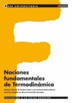 nociones fundamentales de termodinamica mariano sidrach de cardona ortin jose antonio molina bolivar 9788466743907