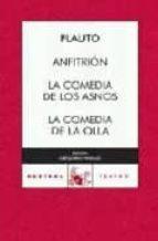 anfitrion; la comedia de la olla-tito maccio plauto-9788467029307
