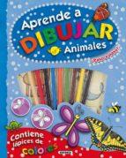 aprende a dibujar animales ¡paso a paso!-marcela grez-9788467718607