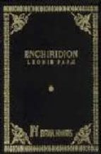 enchiridion papa, santo leon i 9788479100407