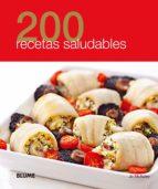 200 recetas saludables 9788480769907